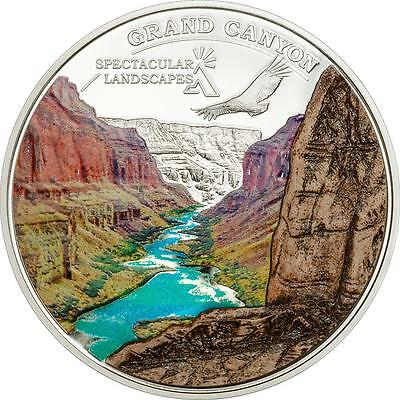 Cook Islands 2014 $5 Spectacular Landscapes - Grand Canyon 20g Silver Proof Coin