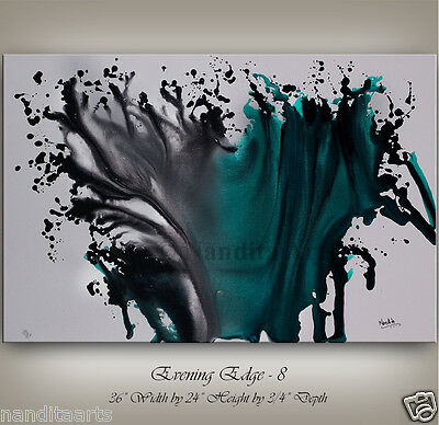 MODERN ART Huge Acrylic ABSTRACT contemporary original Painting CANVAS by artist