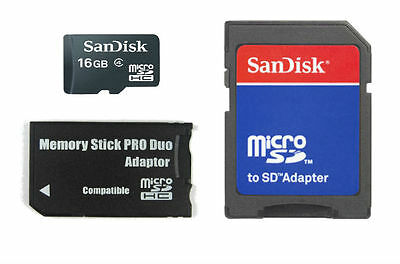 16GB Memory Stick MS Pro Duo Memory Card for Sony PSP and Sony Cybershot Camera