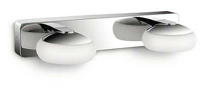 PHILIPS myBathroom Silk 340471116 LED-Wandleuchte 2-flg. IP44