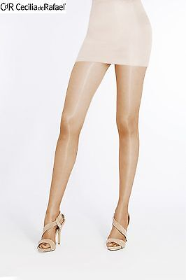 Cecilia de Rafael SEVILLA Hot Shiny Glossy Classic Stockings Pantyhose Tights