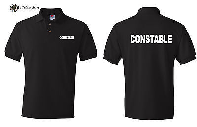Constable Police  Law Enforcement Polo Shirts  S-5XL