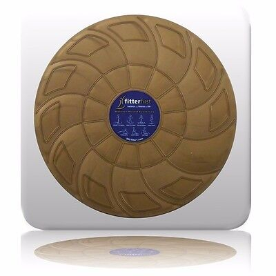 Fitter Classic Balance Board Round 40cm Bi-Level Yoga Pilates Disc Home Gym
