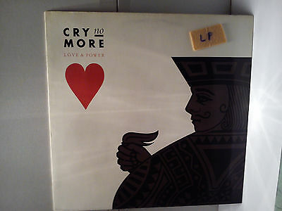 Cry No More - Love & Power  ..........................Vinyl