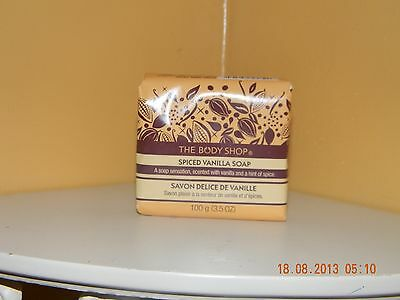 The Body Shop SPICED VANILLA Soap 3.5 oz