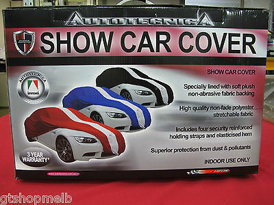 Ford Ba Bf Fg Gt Gtp Gs Show Car Cover Black Extra Large Sedan Ute Typhoon Rspec