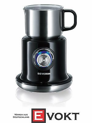 SEVERIN SM9688 Induction Milk Frother 700ml 500W Stainless Steel Black Genuine