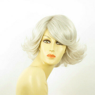 short wig for women white ref: edwige 60 PERUK