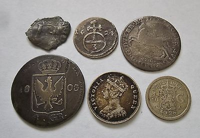 5 Centuries of World coins-Medieval hammered, German States, Austria, Hong Kong