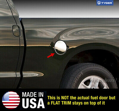 TYGER For 00-04 Toyota Tacoma Gas Cap Chrome Stainless Steel Fuel Cover