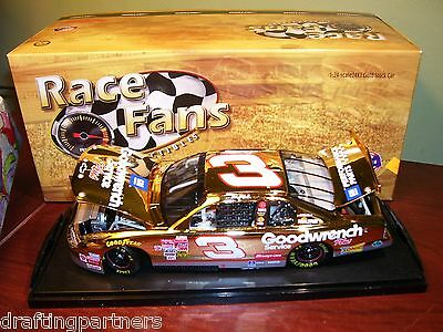 XRARE 1/24 Dale Earnhardt Sr #3 Goodwrench 2001 GOLD QVC Die-Cast NASCAR bv $300