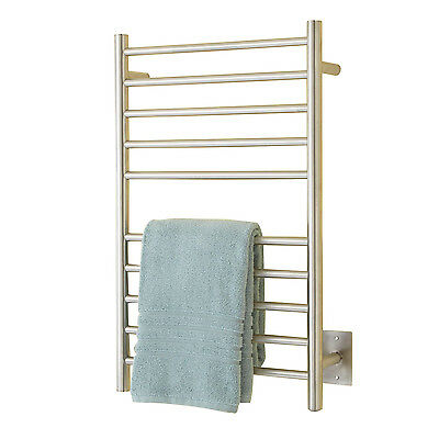 "Naiture 20"" Stainless Steel Hardwired Towel Warmer In 3 Finishes"