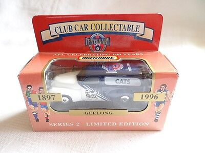 Matchbox Club Car Collectable 1996 Geelong Cats 1:58 (A+/BC)