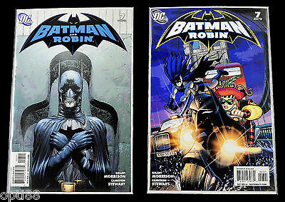 Batman and Robin #7 Regular & Variant Cover VF DC Comic Book 2010
