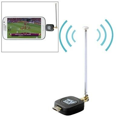 Micro USB 2.0 Mobile Watch DVB-T/ISDB-T TV Tuner Stick for Android Phone / Pad