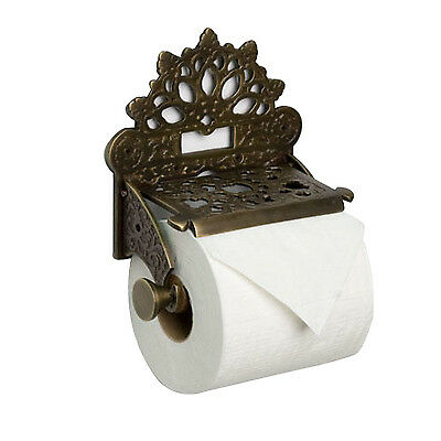 Naiture Solid Brass Toilet Paper Holder In 4 Finishes