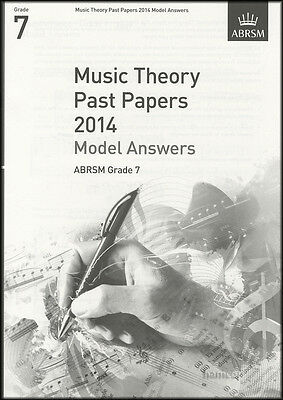 Music Theory Past Papers 2014 Model Answers ABRSM Grade 7 Exam