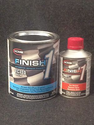 SHERWIN WILLIAMS FC710 w/ FH611 Finish1 Ultimate Spot Panel Clearcoat Quart Kit