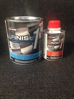SHERWIN WILLIAMS FC710 w/ FH613 Finish1 Ultimate Spot Panel Clearcoat Quart Kit