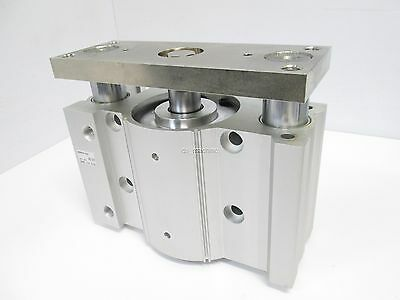 New SMC MGPM100-50AZ Pneumatic Guided Cylinder 100mm Bore 50mm Stroke