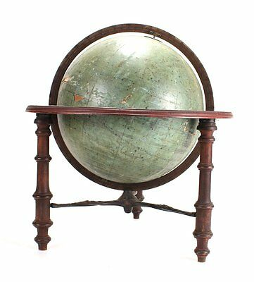Antique Victorian J. Schedler's Celestial Globe Dating to 1873