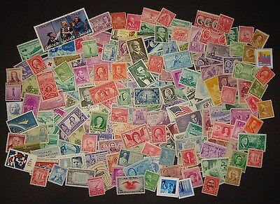 US STAMPS - MINT -  VINTAGE STAMPS  (45-80 years old)