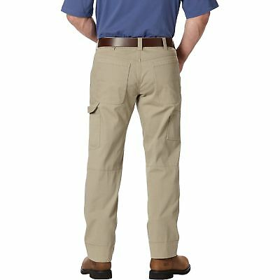 Gravel Gear Ripstop Carpenter Pant with Teflon - Khaki, 36in Waist x 30in Inseam