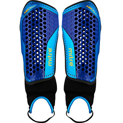101293 SPORTS DEAL Mitre Aircell Carbon Shinpads with ankle guard XS/S/M/L