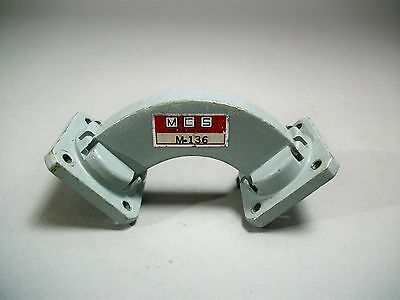 MCS M-136 H Bend 90 Degree Waveguide WR-75 Free Shipping - Used