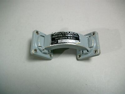 Waveguide 062A-590-1 E Bend WR-62 Free Shipping - Used
