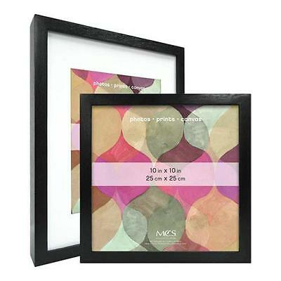 MCS Art Shadow Box Solid Wood Picture Frame for 20x24 Photograph -Black #47567