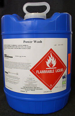 Type Wash - Very Strong/fast Drying Solvent - No Ups Hazmat Fee!  New 5 Gal.