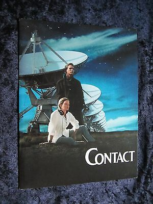 CONTACT  press kit  with 8 slides JODIE FOSTER, MATTHEW MCCONAUGHEY