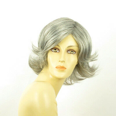 short wig for women smooth grey ref: MARION 51 PERUK