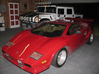 Replica/Kit Makes : Countach 25th aniversary coupe 1986 lamborghini countach 25 th aniversary