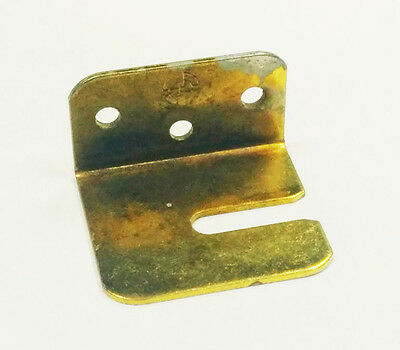 2x 36mm Open Stretcher Plate, Open Vertical Slot, Mounting Brackets, Angle Plate