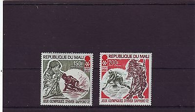 MALI - SG309-310 MNH 1972 WINTER OLYMPIC GAMES SAPPORO