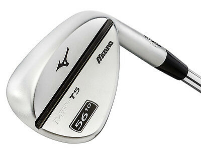 Mizuno MP-T5 White Satin Forged 56° Sand Wedge 14° Bounce DG Steel MPT5 - 2015