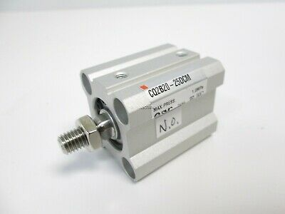 New SMC CQ2B20-25DCM Pneumatic Cylinder, Double Acting, 20mm Bore, 25mm Stroke