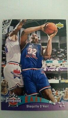 SHAQUILLE O'NEAL 1992-93 UPPER DECK EAST ALL-STAR #424