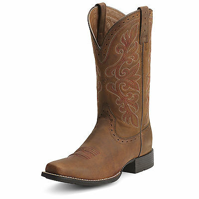ARIAT - Women's Rundown Western Boots - Root Beer - ( 10012823 ) - New