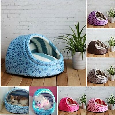 Soft Extra Cute Large Dog House Medium Cat Bed Small Portable Indoor Kennel