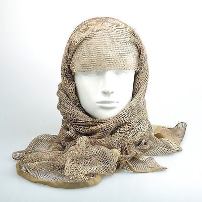 Mandrake Camouflage Camo Army Mesh Breathable Scarf Wrap Mask Shemagh Veil