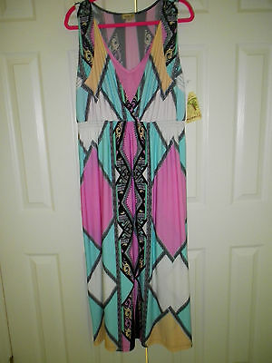 LONG DRESS BY ONE WORLD SIZE 1X NEW WITH TAGS