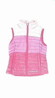 Free Country Girls XS Down Puffer Pink Clash Kiss Quilt Designer CHOP 5TAEz1