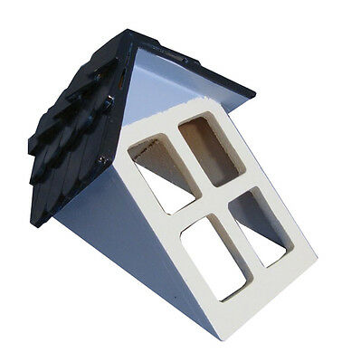 Dolls House Miniature 1/12th Scale Painted Tiled Dormer Window