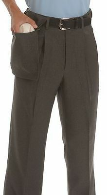 Smitty Poly/Wool Charcoal Grey Umpire Pants - Base, Plate & Combo Available
