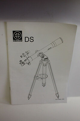 Genuine Meade DS 60mm thru 90mm, 114mm & 127mm Telescope Instruction Manual