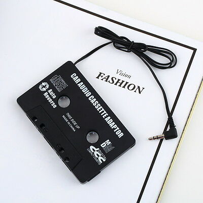 Audio AUX Car Cassette Tape Adapter Converter 3.5 MM for iPhone iPod MP3 CD FE