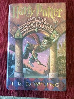 Harry Potter and the Sorcerer's Stone. Hardcover, First American Edition,